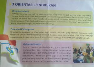 Orientasi pendidikan