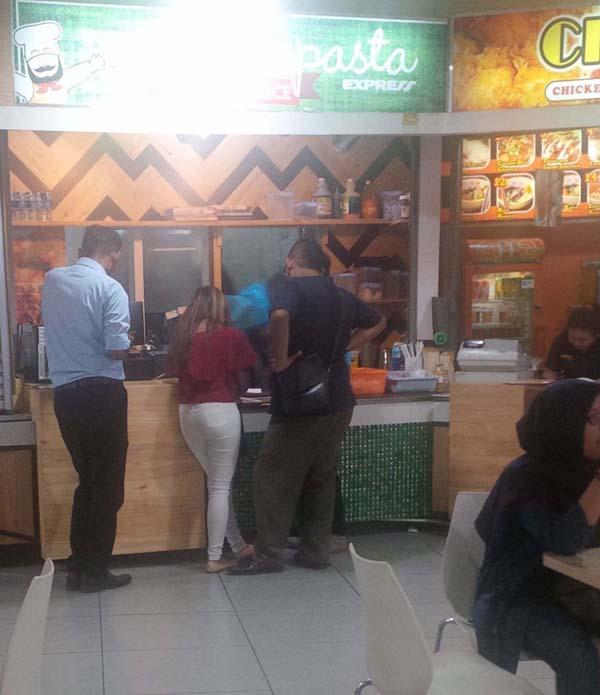 Dapur Pasta di Bandung Indah Plaza